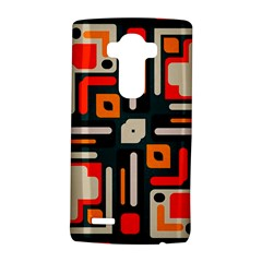 Shapes In Retro Colors Texture                   			lg G4 Hardshell Case