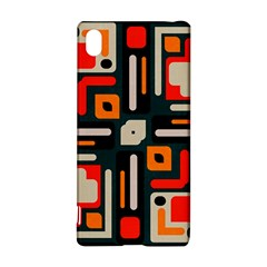 Shapes In Retro Colors Texture                   			sony Xperia Z3+ Hardshell Case