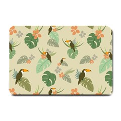 Tropical Garden Pattern Small Doormat