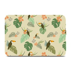 Tropical Garden Pattern Plate Mats