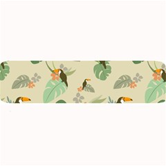Tropical Garden Pattern Large Bar Mats