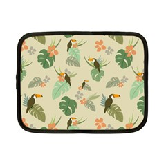 Tropical Garden Pattern Netbook Case (small)