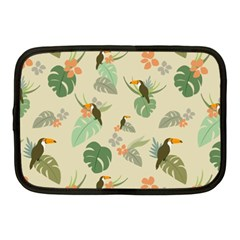 Tropical Garden Pattern Netbook Case (medium)