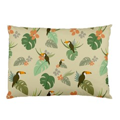 Tropical Garden Pattern Pillow Case