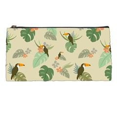 Tropical Garden Pattern Pencil Cases