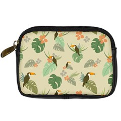 Tropical Garden Pattern Digital Camera Cases