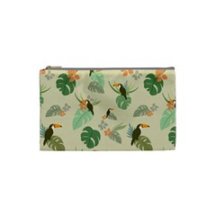 Tropical Garden Pattern Cosmetic Bag (small)