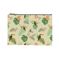 Tropical Garden Pattern Cosmetic Bag (Large)