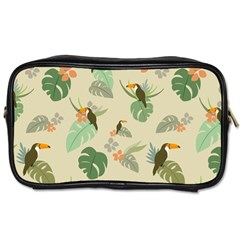 Tropical Garden Pattern Toiletries Bags 2-Side