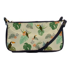 Tropical Garden Pattern Shoulder Clutch Bags