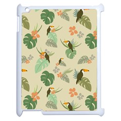 Tropical Garden Pattern Apple Ipad 2 Case (white)