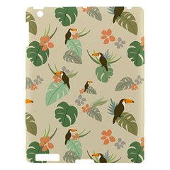 Tropical Garden Pattern Apple iPad 3/4 Hardshell Case