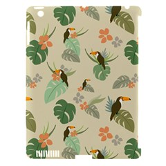 Tropical Garden Pattern Apple iPad 3/4 Hardshell Case (Compatible with Smart Cover)