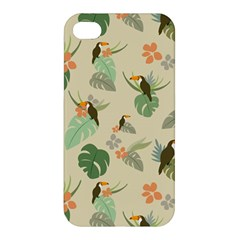 Tropical Garden Pattern Apple iPhone 4/4S Premium Hardshell Case