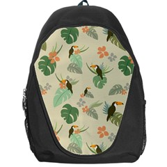 Tropical Garden Pattern Backpack Bag