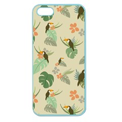 Tropical Garden Pattern Apple Seamless iPhone 5 Case (Color)
