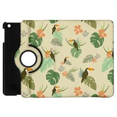Tropical Garden Pattern Apple Ipad Mini Flip 360 Case