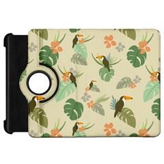 Tropical Garden Pattern Kindle Fire Hd Flip 360 Case