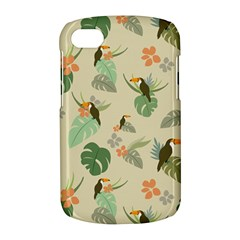 Tropical Garden Pattern BlackBerry Q10