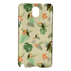 Tropical Garden Pattern Samsung Galaxy Note 3 N9005 Hardshell Case