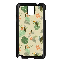 Tropical Garden Pattern Samsung Galaxy Note 3 N9005 Case (Black)
