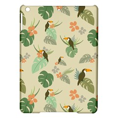 Tropical Garden Pattern iPad Air Hardshell Cases