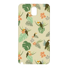 Tropical Garden Pattern Samsung Galaxy Note 3 N9005 Hardshell Back Case