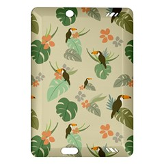 Tropical Garden Pattern Amazon Kindle Fire HD (2013) Hardshell Case