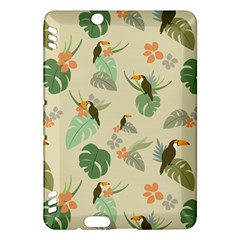 Tropical Garden Pattern Kindle Fire HDX Hardshell Case