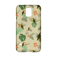 Tropical Garden Pattern Samsung Galaxy S5 Hardshell Case