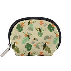 Tropical Garden Pattern Accessory Pouches (Small)