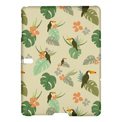 Tropical Garden Pattern Samsung Galaxy Tab S (10 5 ) Hardshell Case