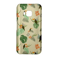Tropical Garden Pattern HTC One M9 Hardshell Case