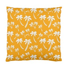 Summer Palm Tree Pattern Standard Cushion Case (two Sides)