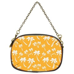 Summer Palm Tree Pattern Chain Purses (two Sides)