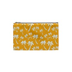 Summer Palm Tree Pattern Cosmetic Bag (small)