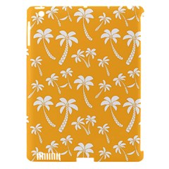 Summer Palm Tree Pattern Apple iPad 3/4 Hardshell Case (Compatible with Smart Cover)