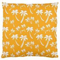 Summer Palm Tree Pattern Large Cushion Case (Two Sides)