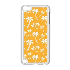 Summer Palm Tree Pattern Apple iPod Touch 5 Case (White)