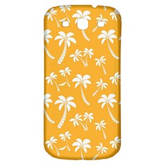 Summer Palm Tree Pattern Samsung Galaxy S3 S Iii Classic Hardshell Back Case
