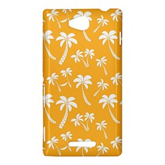 Summer Palm Tree Pattern Sony Xperia C (S39H)