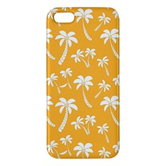 Summer Palm Tree Pattern Iphone 5s/ Se Premium Hardshell Case