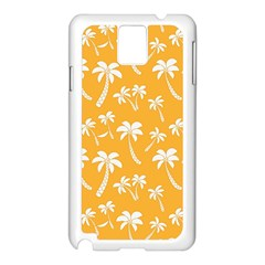 Summer Palm Tree Pattern Samsung Galaxy Note 3 N9005 Case (white)
