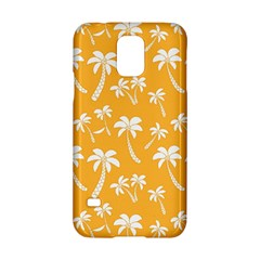 Summer Palm Tree Pattern Samsung Galaxy S5 Hardshell Case
