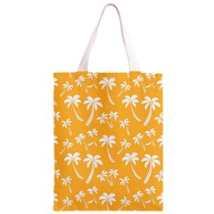 Summer Palm Tree Pattern Classic Light Tote Bag