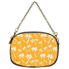 Summer Palm Tree Pattern Chain Purses (one Side)