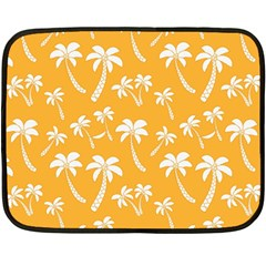 Summer Palm Tree Pattern Double Sided Fleece Blanket (mini)