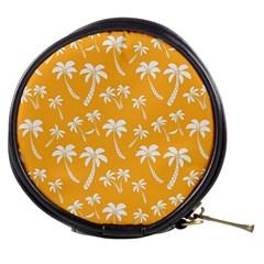 Summer Palm Tree Pattern Mini Makeup Bags