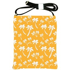 Summer Palm Tree Pattern Shoulder Sling Bags
