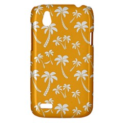 Summer Palm Tree Pattern HTC Desire V (T328W) Hardshell Case